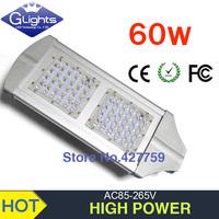 free shipping sale solar energy 24V or AC85-265V IP65 2 year warranty 60W led street light 130-140LM/W LED led street light
