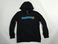Bur for ton black zipper male sweatshirt slopwork