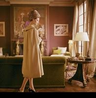 Vintage vintage fashion wool cashmere woolen female outerwear overcoat
