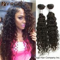 4Pcs Brazilian Hair Bundles mocha Unprocessed Virgin Brazilian Deep Wave Human Hair Weave Brazilian Curly Virgin Hair Extensions