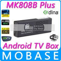 Original MK808B Plus Amlogic M805 Quad Core Android TV Box 1G/8G WIFI H.265 Hardware Decode Bluetooth DLNA IPTV XBMC Smart TV