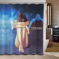 Thinker products  bathroom curtain shower curtain terylene bath curtain 180x180cm ,screen shower,curtain bath