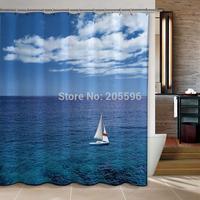 Sailing Love bathroom curtain shower curtain terylene bath curtain 180x180cm ,screen shower,curtain bath