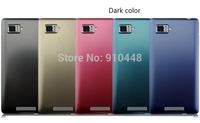 New Arrival 2pcs/lots dark color frosted anti-fingerprint hard plastic cover Case for Lenovo VIBE Z K910