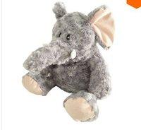 LY8640 40CM 2014 New Cute Cartoon Lavender Elephant Plush Toys Christmas Gift Can Heating