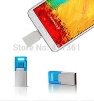 New 8GB 16GB 32GB Smart Phone Tablet PC USB Flash Drive pen drive 64GB OTG external storage micro usb drive memory stick usb 2.0