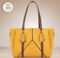 2014 women's embossed handbag fashion one shoulder cross-body handbag women's trend big bag of sandwich