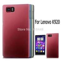 New Arrival dark color frosted anti-fingerprint hard plastic cover Case for Lenovo K920 VIBE Z2 Pro with free screen fiilm