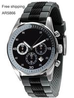 AR5866 Chronograph  Sport Quartz Watch Men Luxury Brand Relogio Masculino Hombr Reelojes De Military Watch Clock Men Wristwatch