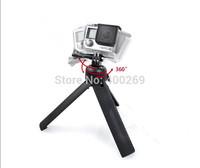 accessories for Gopro Portable monopod and rotatable tripod for Gopro Hero 4/3+/3/2/1/SJ4000 Portable rotatable tripod  GP218