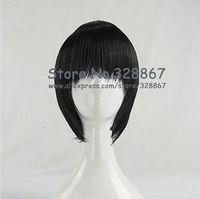 HitmanReborn Lambo Black Cosplay Wig Hibari Kyoya Cosplay Wig