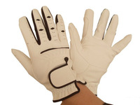 Hot Sale Equestrian Gloves White Leather Gloves,Riding Gloves