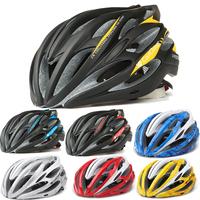 bicycle helmet for men women's cycling helmet integrally mountain bike helmet  with insect prevention net ultralight