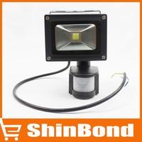wholesale 10W LED LED Floodlights Advertising lamp PIR Motion Sensor AC85-265V led lamp waterproof outdoor lighting Flood light