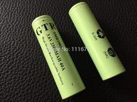 40A Discharge GTR original IMR 18650 2500mAh 3.6V high drain battery