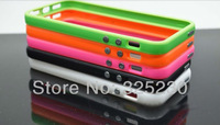500ps/lot New arrival Bumpers Frame for iphone 5 with retail package Free shipping