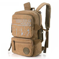 2014 New Men's And Women Vintage Canvas Backpack Rucksack School Bags Men's Travel Bags Mountaineering Free Shipping YYJ914