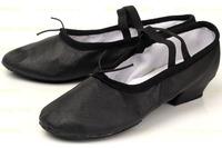 Children Soft Genuine Leather Side Girls Ballet Shoes Women Ballet Latin Dance Sneakers for Kid Ladies Zapatos De Baile LD035