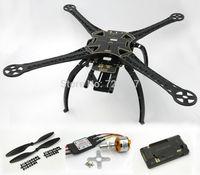 S500 Quadcopter Frame Kit (Black ) W/ APM2.6 Flight Controller XXD 2212 1000kv Motor 30A Simonk