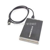 "CY External 2.5"" SATA Hard Disk Drive Enclosure for USB 2.0 & Firewire 400 1394 Combo Black Color"