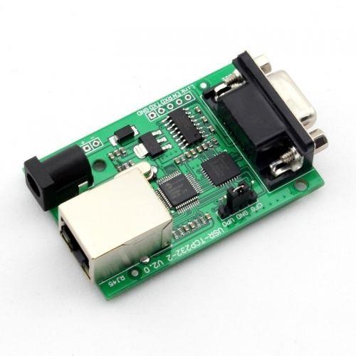 Q00222 1 Piece USR-TCP232-2 RS232 to Ethernet TCP/IP Converter Module + FreePost(China (Mainland))