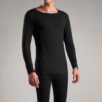 Men's100% cotton Men's Thermal Underwear Fashion Pajamas Men Snug Sleepwear Tops UnderShirts Hi-Q Men Warm Shirt