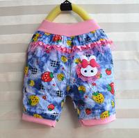 2015 Boys dual-speed lace pants denim shorts summer new boy pants wholesale girls in