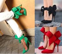 Brand women ultra high heels suede leather sandals, Fashion women's high-heeled pumps sandals size 34 -43