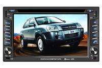 HY-002 TUCSON/Elantra- Touchscreen DVD GPS Navigation Radio Bluetooth Steering Wheel Control RDS SD/USB Car Rear Camara Free Map
