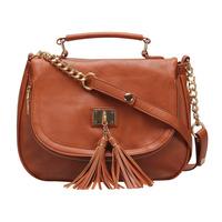 VEEVAN fashion shoulder bags leather women handbag casual tote bag tassel women messenger bags bolsas femininas flag bag