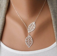 New Stunning Celebrity Sideways Vertical Tree leaf Charm Infinity Pendant Necklace Chain Wedding Event Jewelry!101