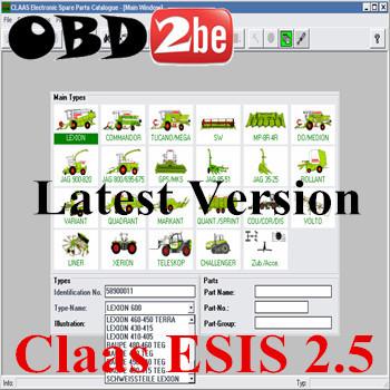 ultima versione claas esis 2.5(China (Mainland))