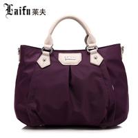 Best women's nylon handbag fashion waterproof messenger bag tote small silt pocket hobos bag