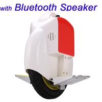 14' 35KM Self Balance Unicycle Monocycle Segway Wheelbarrow Electronic Scooter Single Wheel Walking Rover with Bluetooth Speaker