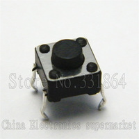 6 * 6 * 4.3mm micro switch touch switch 6x6x4.3mm button switch 1000pcs
