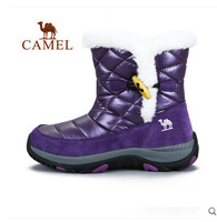 Camel outdoor walking shoes Mauri warm autumn and winter female models high-top walking boots Foot