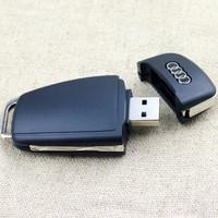 Free Shipping For audi key USB 2.0 4GB 8GB 16GB 32GB 64GB USB Flash Drives Pen Drive Pendrive Memory Pendrives
