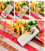 HOT SALE# 2015 20 styles case For iphone 5 / 5s Transparent Snow White Hand cell phone cases covers