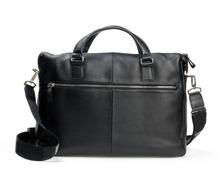 Brand Man Genuine Leather Mont Laptop NoteBook Bag Cowhide M B Men Business Messenger Bag Handbag Man Shoulder Bags Free Ship(China (Mainland))