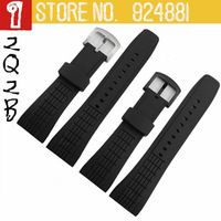 TOP/New Arrived,SNAE17/SRH013/SPC007J1 26mm Silicone Watches Straps for Hours,Waterproof Rubber Watch Bands,Solid Steel Buckle