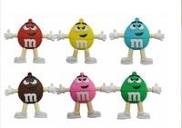pen drive MM rainbow beans 4gb/8gb16gb/32gb bulk usb flash drive flash memory stick pendrive mini