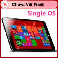 "Free shipping cheapest 8"" IPS CHUWI VI8 2GB 32GB Windows 8.1 Intel Z3735F Bluetooth Dual Cameras Multi Language tablet pc"