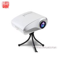 2014 New Arrival Hot Sale Mini Home Multimedia Cinema LED Projector HD 1080P Support AV TV VGA USB HDMI SD Free Shipping