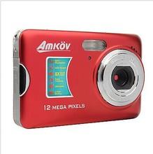 Portable 12.0 Mega Pixel CMOS HD Digital Camera with 8x Digital Zoom
