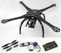 S500 Quadcopter Frame Kit (Black ) W/ APM2.6 Flight Controller Angel 2212 980kv Motor 30A Simonk