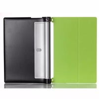 For Lenovo Yoga Tablet 2 10'' 1050 High Quality Custer Grain Smart Flip Case Leather Hard Back Cover Stand