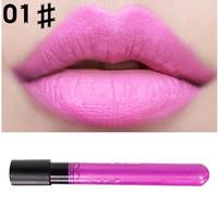 Purple Long Lasting MOQ 1 pc 4.4g Lipsticks 38 colors optional Make Matte Lip Stick Lip Gloss Water Resistance Lip Sticks