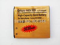 DHL  shipping 100pcs/Iot  Gold 3030mAh Battery For  Samsung Galaxy S4 i9500 i9505 i337 i545