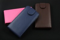 5pcs/lot HY-Luxury business senior PU leather embossed mobile phone sets up and down to open case for samsung i9300 Galaxy SIII