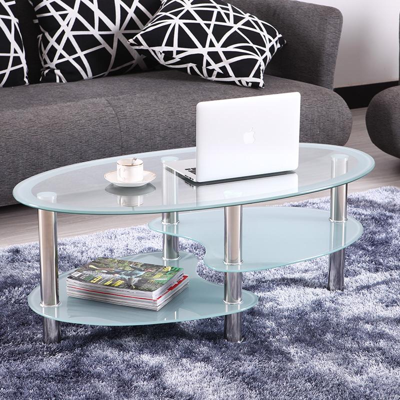 table verre ovale ikea